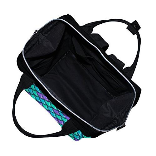 ALIREA Scales Backpack, Large Muti-Function Travel Backpack