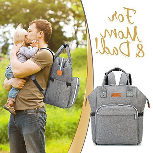 Diaper with Pad, Insulated Cooler Pocket for Bottle Storage, Stroller Pantheon, Best Girl Mom