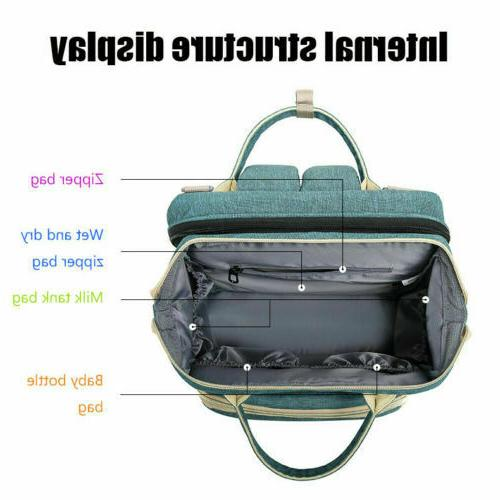 Diaper Bed Bag ExpandableTravel Changing