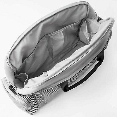 Diaper Bag Baby Bags Waterproof Unisex Gray By O'beanie