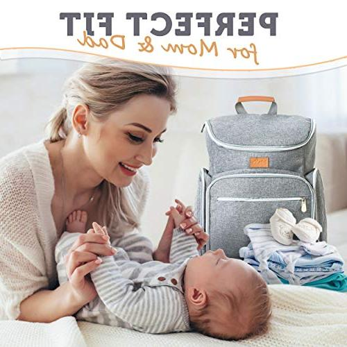 Baby Republic Diaper Backpack for Mom Boys and - Bags Women Large Changing Pad Straps
