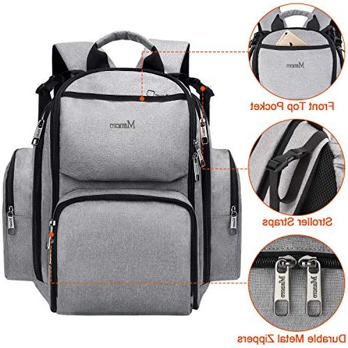 Diaper Backpack, Multifunction for Pockets, Straps, Durable Baby Nappy Boys/Girls,