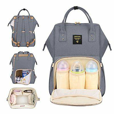SUNVENO Backpack Baby Changing Bag Insulated