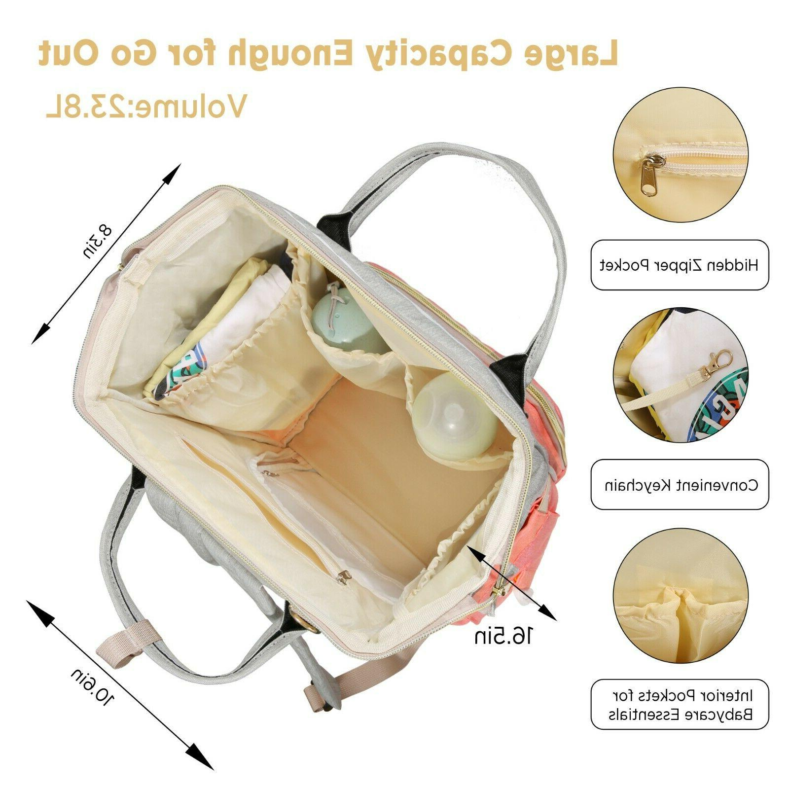 Diaper Bag Backpack Large - Waterproof Baby Travel