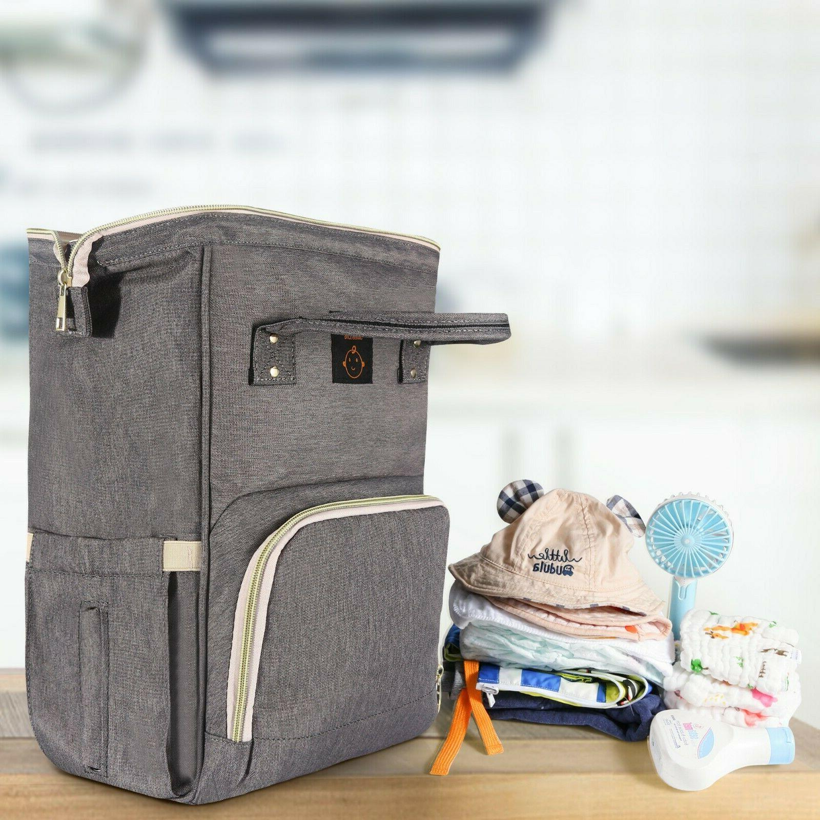 Diaper Backpack, Travel Back Pack Baby Changing