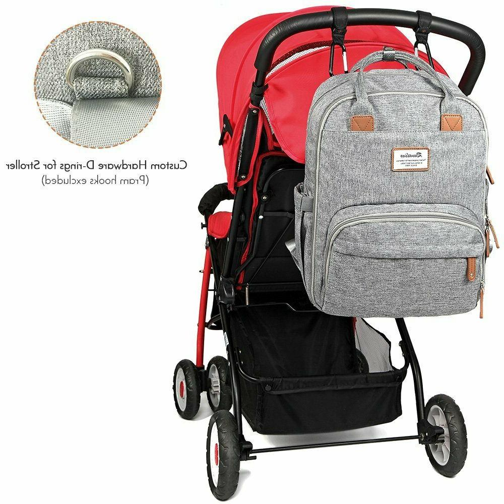 Diaper Backpack Baby Changing Capacity