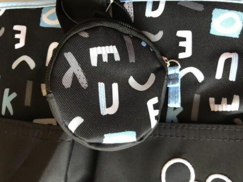 & Tote Mouse Blue Letters The Boss