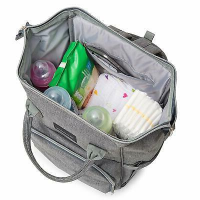 Diaper Bag Dad Girls Baby with Changing Pad