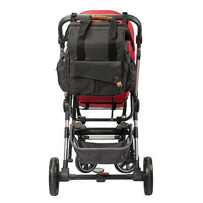 Diaper Pockets Pockets, Stroller with L Black