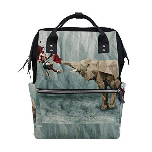 diaper bags elephant ring punch