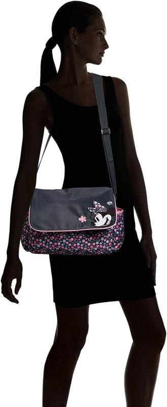 Disney Minnie Mouse Diaper Bag with Ditsy Floral Print,