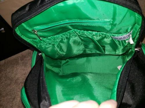 Graco backpack green smart organizer system