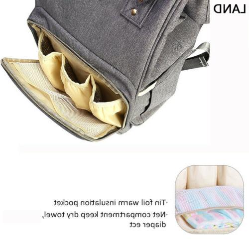 GENUINE Multifunctional Bags Mummy Backpack Changing Bag Baby Nappy