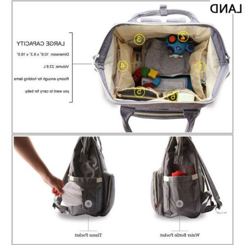 GENUINE Multifunctional Bags Changing Bag Nappy