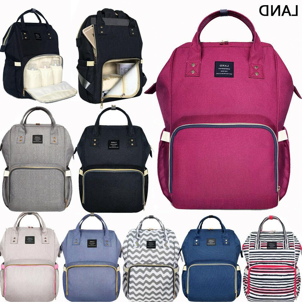 genuine multifunctional diaper bags mummy backpack changing