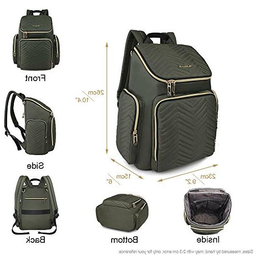 Colorland Backpack Lightweight Opening Bag with Mat and Pockets,