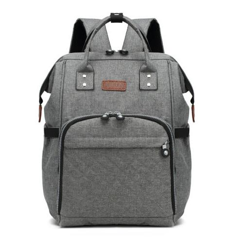 grey mummy changing bag baby diaper nappy