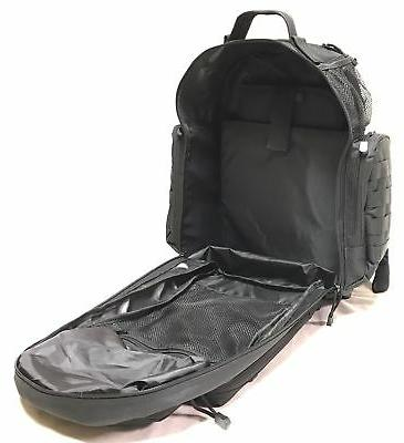 HSD Tactical Diaper Bag Backpack+Changing Insulated Stroller