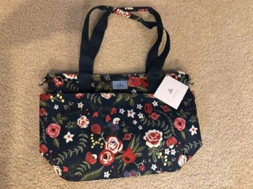 Ju-Ju-Be Encore Tote Midnight Posy Diaper Bag/Purse Brand Ne