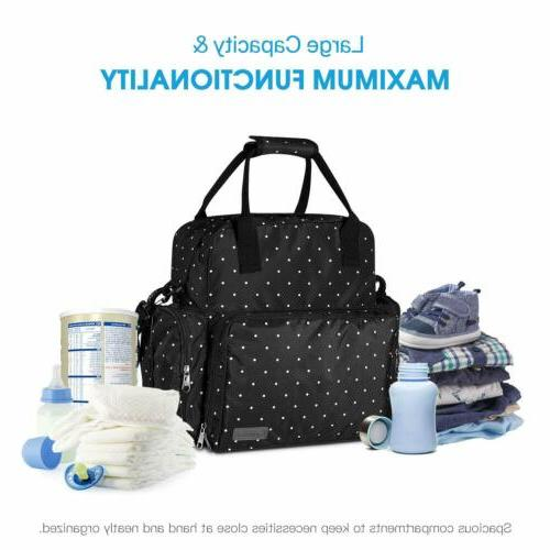 Large Diaper Bag Multi-Function Baby Backpack Nappy Tote Bag