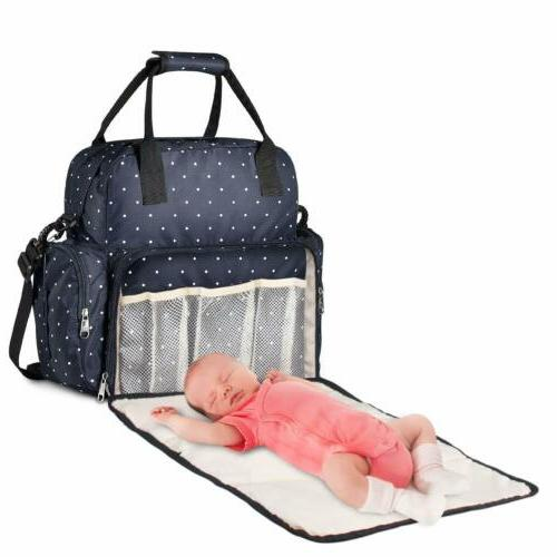 large diaper bag multi function baby travel