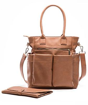 leather diaper bag backpack by diaper bag