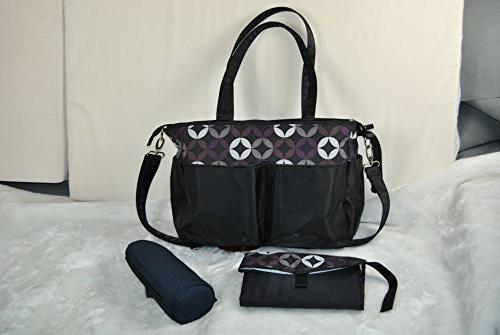 Ju-Ju-Be Legacy Collection B.F.F. Convertible Diaper Bag, Th