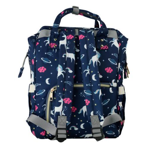 Diaper Bag Backpack Capacity Unicorn Baby Free Get Hook