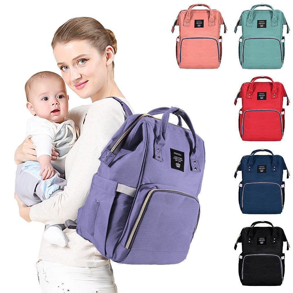 LEQUEEN Nappy Diaper Bag Large Baby Travel