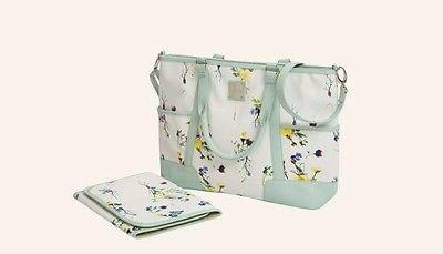 lola diaper bag with changing pad water