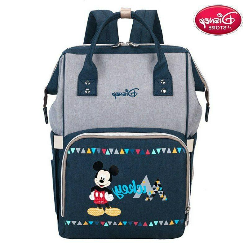 Disney Diaper Bags Mummy Nappy Backpack