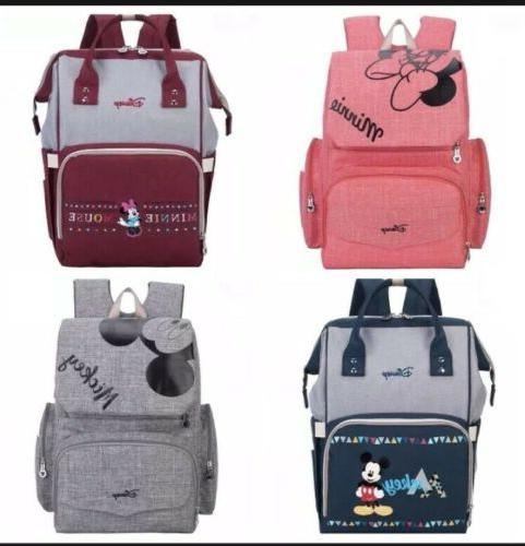 mickey minnie mouse diaper bags mummy maternity