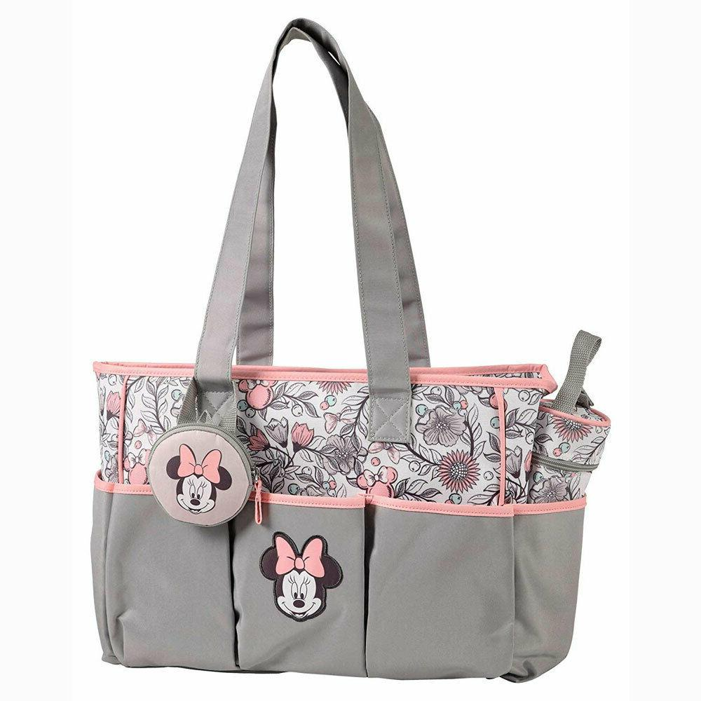 Disney Minnie Mouse Large & Small Diaper Bottle Pacifier Tote