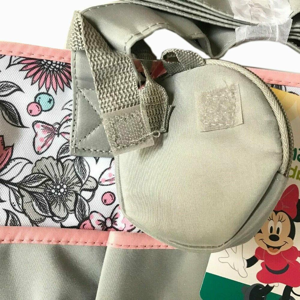 Disney Minnie Mouse Large & Diaper Bottle Pacifier Tote G