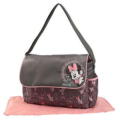 minnie mouse baby girl diaper bag w