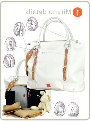 PacaPod Mirano Baby Bag - Luxury Tote in 1