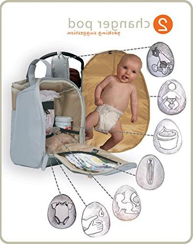 PacaPod Baby Bag Luxury in System