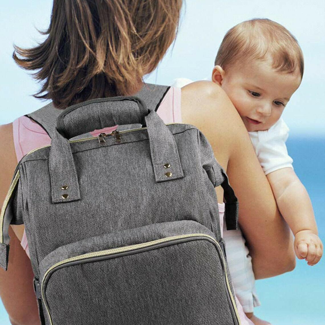 Mom Diaper Baby Backpack Travel Stroller