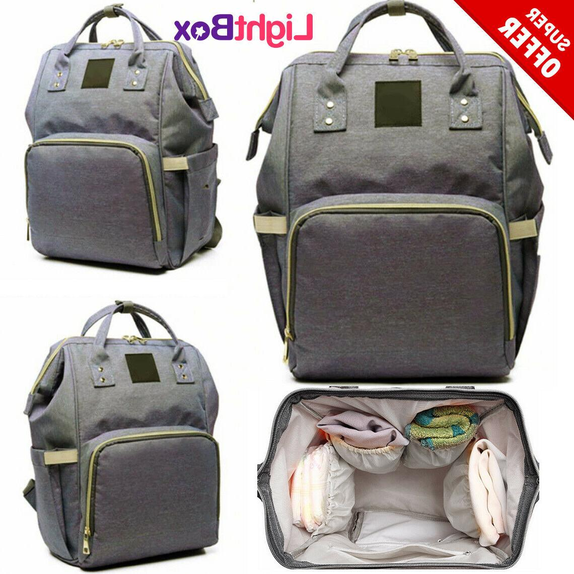 mom diaper bag for baby backpack nappy