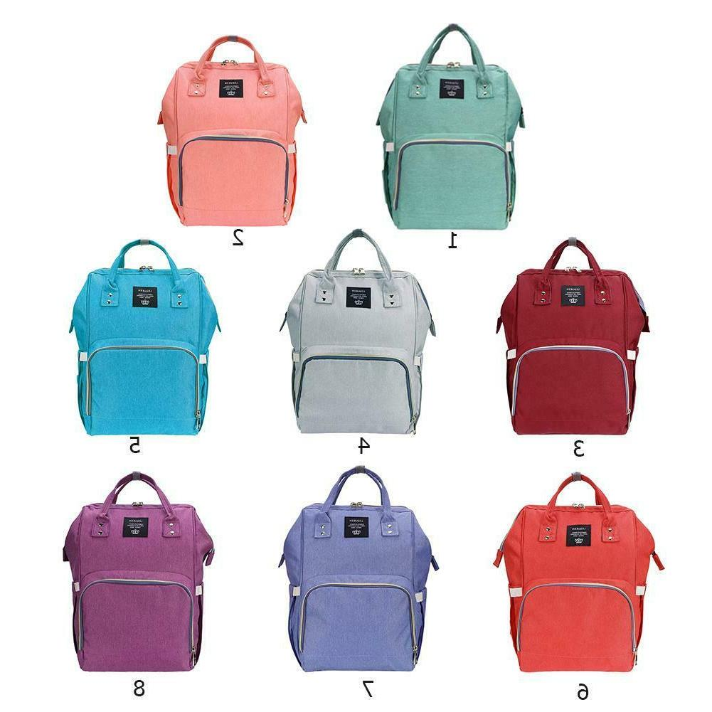 Mommy Backpack Diaper Waterproof Large Capacity Casual Baby Care EM#