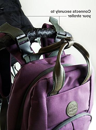 Multi-function Backpack W/Stroller Pad & Durable with