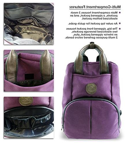 Multi-function Baby Backpack W/Stroller Pad Stylish & with Anti-Water