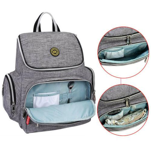 Multi-Function Bag Backpack Nappy Bags Pad