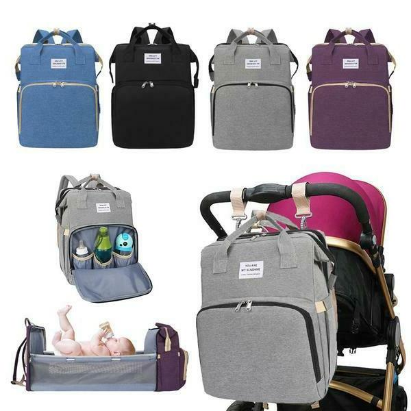 multifunctional baby diaper bag mommy backpack portable