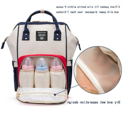 Ergo Diaper Bag Changing Multi-function Mummy Nappy Backpack