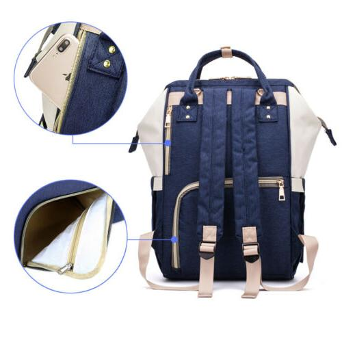 Maternity Nappy Bag Multifunctional Baby Travel Backpack