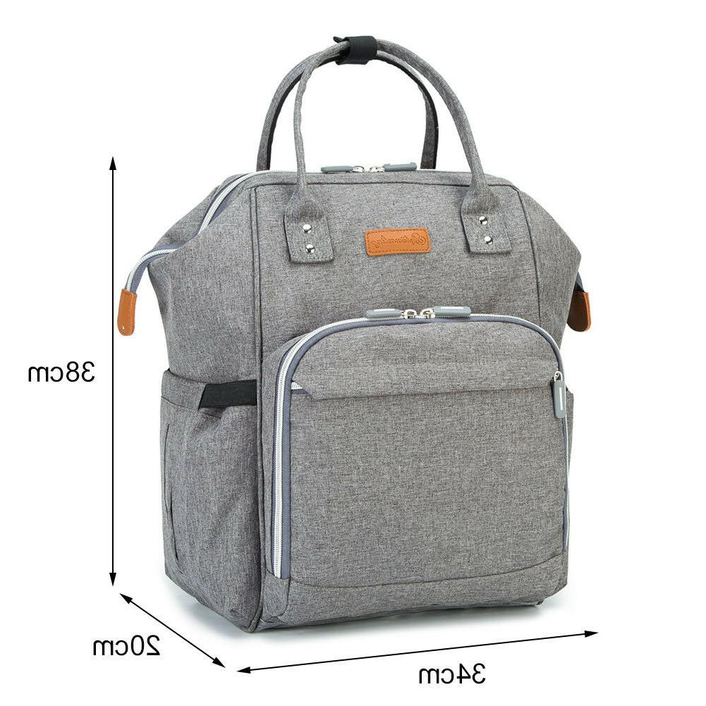 Mummy Bag Nappy Diaper Travel Backpack
