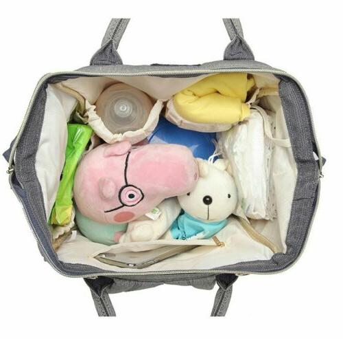 LEQUEEN Nappy Diaper Mummy Nursing Baby Care Backpack Charging Port