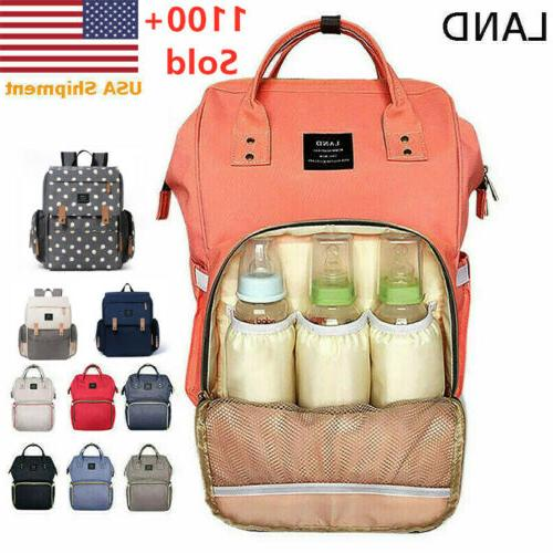 nappy diaper mummy bag multifunction travel waterproof