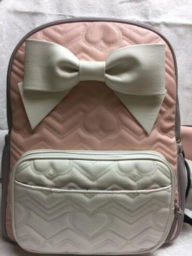 New Baby Diaper Bag Gray Backpack Travel Tote